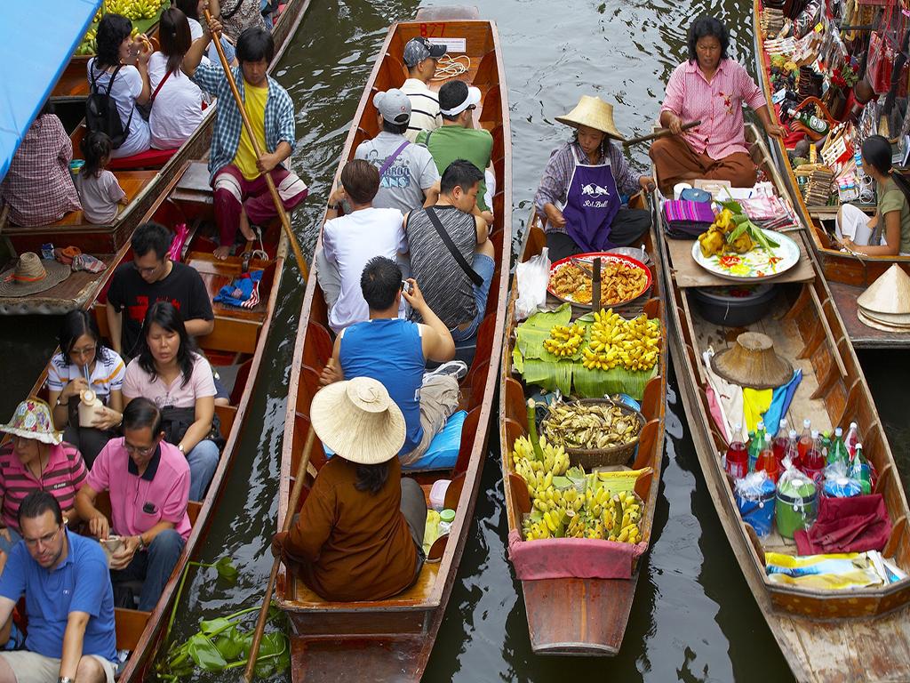 comment se rendre en thailande