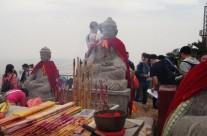Les sculptures de pierre du Mont Baoding.