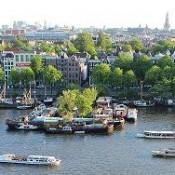 La charmante ville d'Amsterdam
