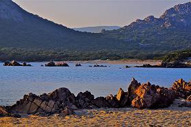 Paysage marin - Plage de Pianottoli-Caldarello - Corse du sud