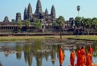 Siem Reap et les temples d'Angkor au Cambodge
