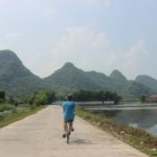 Au Nord du Vietnam, on peut profiter de très beaux paysages.