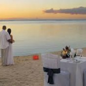 Un mariage en mer à l'île Maurice