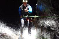 Le canyoning, un sport à sensation