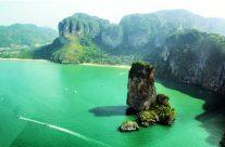 La baie Phang Nga en Thailande