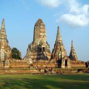 Les temples célèbres de la Thaïlande.