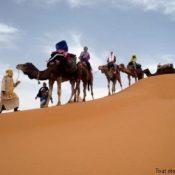 Que mettre dans sa valise pour une randonnée en désert à Merzouga ?