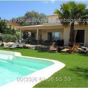 Location Villa Pour huit personnes à Palombaggia près de Porto-Vecchio en Corse du sud