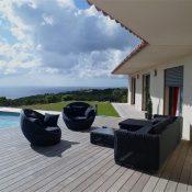 Location de villa de haut de gamme à Santa giulia en Corse du sud
