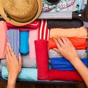 Bien organiser votre valise avant de partir en voyage